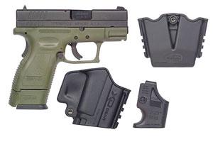 XD9811HCSP06 X-Treme Duty Sub Compact w/XD Gear System