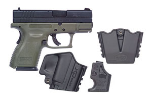 XD9812SP06 X-Treme Duty Sub Compact w/XD Gear System