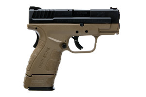 Springfield Armory XD Sub-Compact Mod2 With Gripzone Double Action Only (USA Action Trigger System) 9MM Black