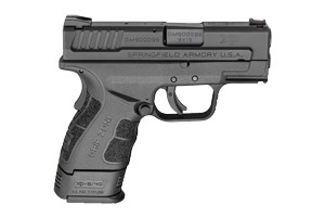 Springfield Armory XD Sub Compact Mod2 With Gripzone Double Action Only (USA Action Trigger System) 9MM Black