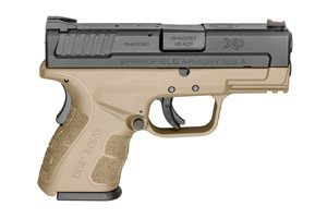 Springfield Armory Pistol: Semi-Auto X-Treme Duty Sub Compact Mod2 W/ Gripzone - Click to see Larger Image