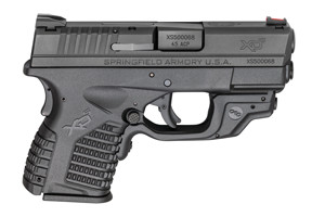 XDS93345BECT XD-S With Crimson Trace Laserguard