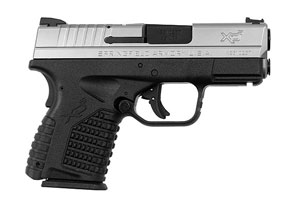 Springfield Armory XD-S Double Action Only (USA Trigger System) 45AP Black Polymer Frame and Stainless Steel Slide