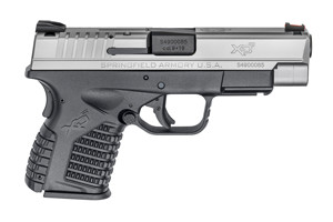 Springfield Armory XD-S Double Action Only (USA Trigger System) 9MM Black Polymer Frame & Stainless Steel Slide