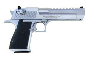 Magnum Research Desert Eagle Mark XIX Single Action 50AE Brushed Chrome