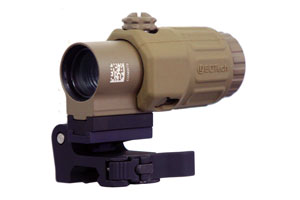 G33.STSTAN G33 3.25X Magnifier, Switch To Side Mount