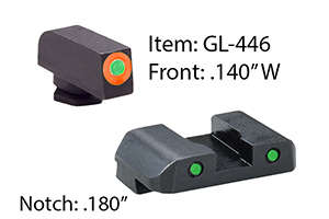Ameriglo  Glock Spartan Operator Sets - Click to see Larger Image