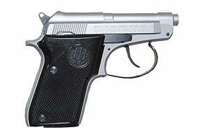 Beretta 21 Bobcat Double Action 22LR Stainless Steel