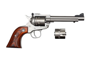 Ruger Super Single Six Convertible Single Action 22LR|22M Stainless Steel