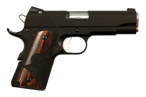 CZ-USA|Dan Wesson Dan Wesson CCO (Concealed Carry Officer) Single Action 45AP Matte Black Ceramic Coat