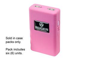 RSG650P-6 6 Pack Pink Ruger 650V Stun Guns