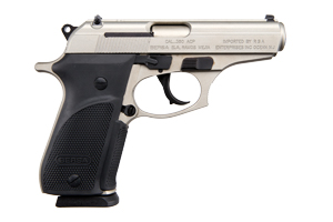 Bersa Pistol: Semi-Auto Thunder 380 Nickel Plus - Click to see Larger Image