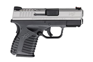Springfield Armory XD-S Double Action Only (USA Trigger System) 9MM Black Polymer Frame And Stainless Steel Slide