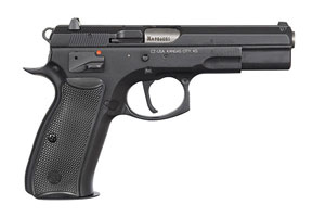 CZ-USA CZ 75 B SA (Single Action) Black Polycoat 01150